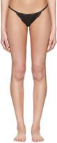 Calvin Klein Underwear Black Mesh Lace String Thong