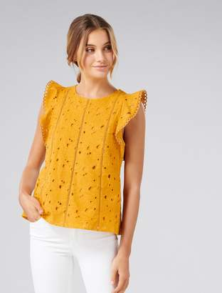 Ever New Audrey Embroidered Blouse