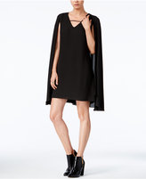 Bar III V-Neck Cape Dress, Only at Macy's