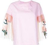 Elaidi - sheer sleeve blouse - women - Cotton - 44