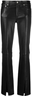Rag & Bone Slim-Cut Leather Trousers