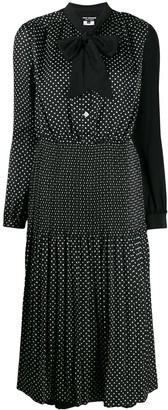 Junya Watanabe Polka-Dot Print Dress