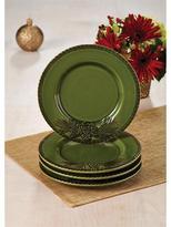 Paula Deen 4-pc. Southern Pine Salad Plate Set, Green