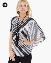 Chico's Scarf Printed Top