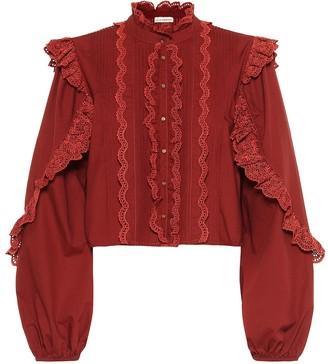 Ulla Johnson Adelaide ruffled cotton blouse