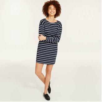 Joe Fresh Women's Boatneck Dress, JF Midnight Blue (Size M)
