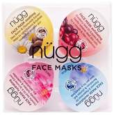 Nugg nügg Sooth, Exfoliate, Hydrate & Revitalize Face Mask - 4pk