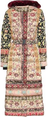 Etro Printed puffer coat