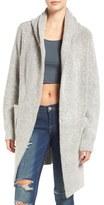 Blank NYC BLANKNYC 'Textationship' Knit Hooded Cardigan