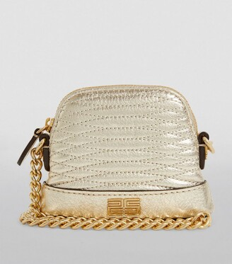 Sandro Paris Baby Quilted Leather Cross-Body Bag
