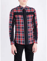 Givenchy Checked Slim-fit Cotton Shirt