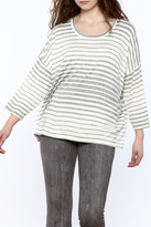 Private Label Striped Boxy Top