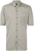 Lanvin printed short sleeve shirt - men - Cotton - 39