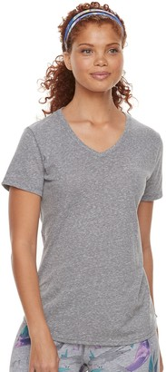 Tek Gear Women's Core Short Sleeve Nep Tee