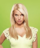 "Hairdo. by Jessica Simpson & Ken Paves from Jessica Simpson and Ken Paves 22"" Vibralite Synthetic Clip-In Extension, Straight, Dark Auburn"