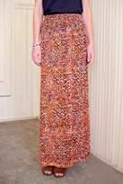 Go Fish Clothing Orange Batik Skirt