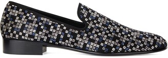 Giuseppe Zanotti Lewis Special crystal-embellished loafers