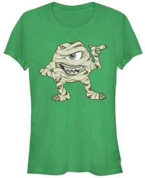 Fifth Sun Disney Pixar Women's Monsters Inc. Mike Mummy Short Sleeve Tee Shirt
