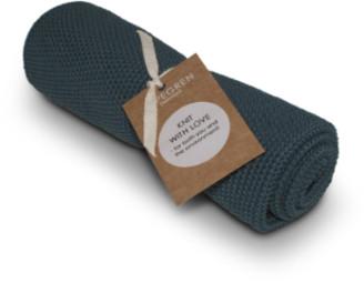 Aspegren Denmark - Tea Towel, knittet, Solid Indigo, Set of 2
