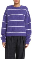 Acne Studios Women's Rhira Stripe Crewneck Sweater