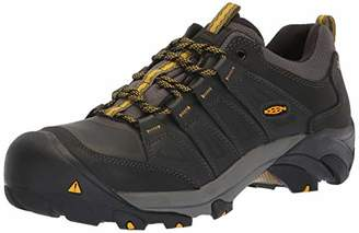 Keen Men's Boulder Low Steel Toe Work Shoe