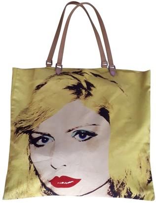 Philip Treacy Yellow Cotton Handbags