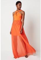 Thumbnail for your product : French Connenction Panthea Jersey Halter Maxi Dress