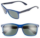 Ray-Ban Men's 57Mm Square Sunglasses - Blue