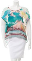 Clover Canyon Digital Print Boxy Top