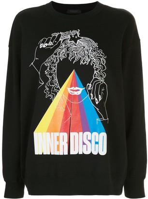 Undercover 'Inner Disco' print sweatshirt