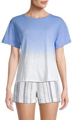 Miss Me Ombre Dye Twist T-Shirt