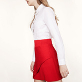 Maje Asymmetric short skirt