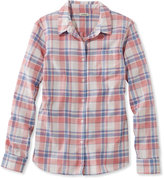 L.L. Bean Lakewashed Cotton Shirt, Plaid