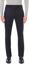 Richard James Slim-fit speckled-wool trousers