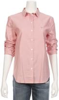 MAISON KITSUNÉ Thin Stripe Oxford Shirt