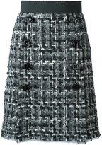 Dolce & Gabbana boucle' knit skirt
