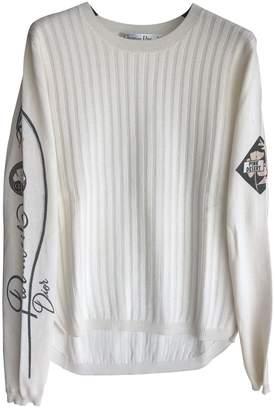 Christian Dior White Wool Knitwear for Women