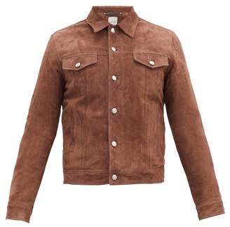 Paul Smith Western Suede Jacket - Brown