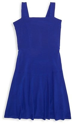 Un Deux Trois Girl's Strappy Fit-&-Flare Dress