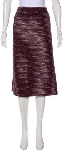 148 Bouclé Midi Skirt