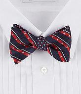 Daniel Cremieux Americana Silk Bow Tie
