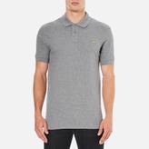 Paul Smith Men's Regular Fit Zebra Polo Shirt Grey