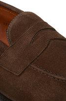 Alden Men's Apron Toe Loafer-DARK BROWN