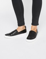 London Rebel Slip on Sneakers