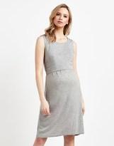 Mama Licious Mamalicious Maternity Nursing Jersey Day Dress