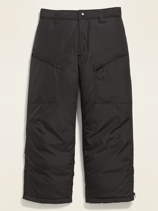 Old Navy Gender-Neutral Water-Resistant Snow Pants for Kids