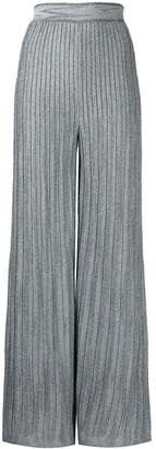 M Missoni Lurex-Knit Trousers