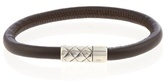 Bottega Veneta Leather-cord bracelet