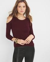 White House Black Market Cold-Shoulder Sweater