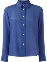 A.P.C. striped shirt - women - Silk - 34